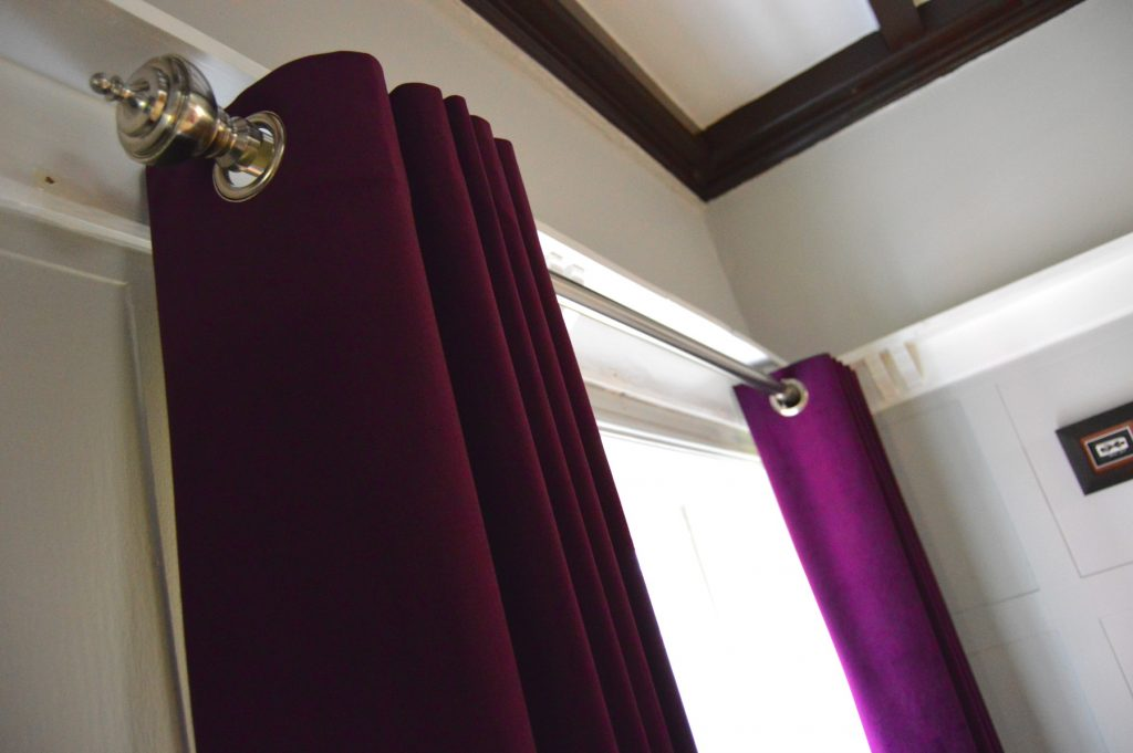 Curtains in Bramhall, Cheshire