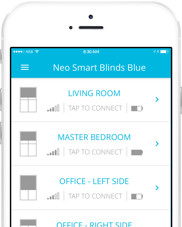 home automation for blinds