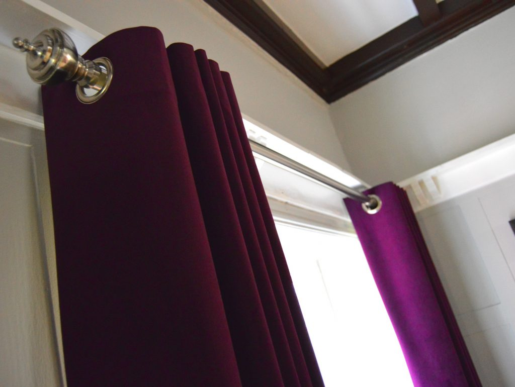 Curtains in Bramhall, Cheshire